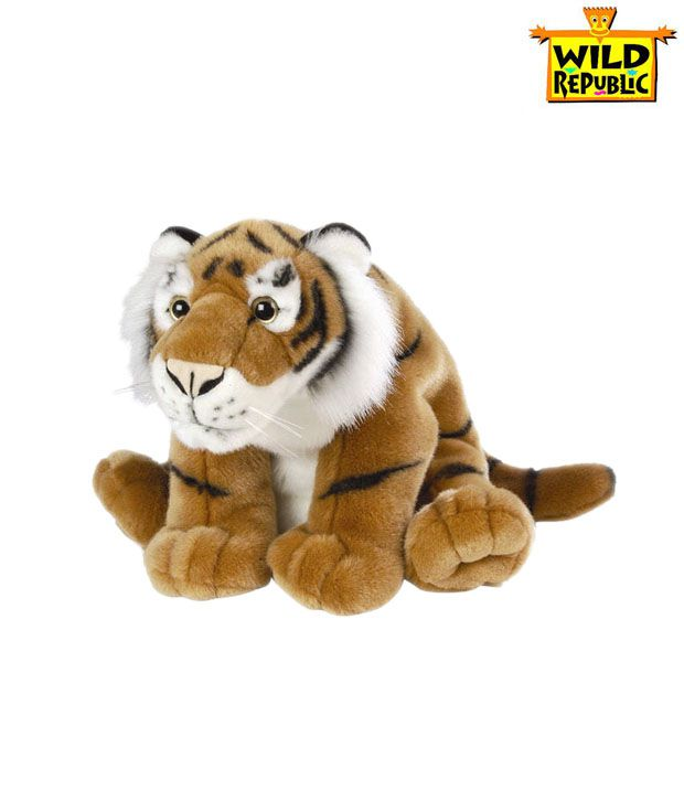 Wild Republic Brown Tiger-16 Inches
