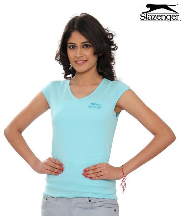 Slazenger Sky Blue T-Shirt (SWWT001sbu)