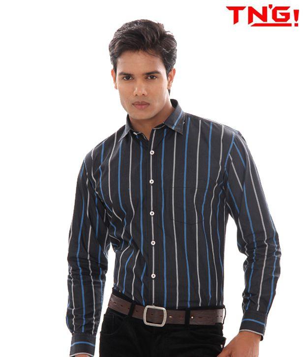 TN'G Razor Lite Black Shirt(TSGN-9650-BK)