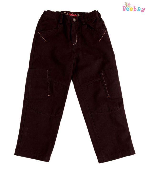 Beebay Knee Pocket Twill Trouser