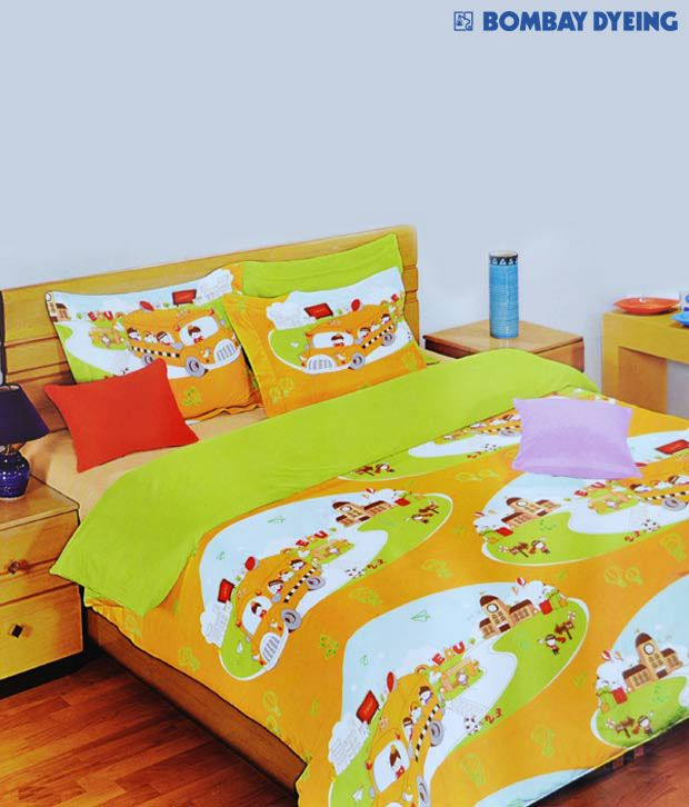 Bombay Dyeing School Bed Sheet