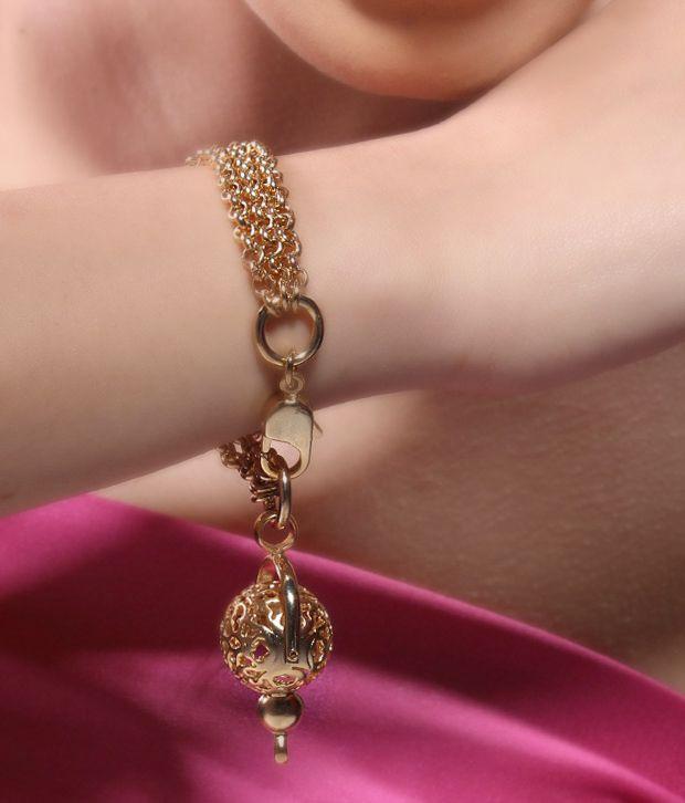 Bansri Ball & Chain Petite Bracelet