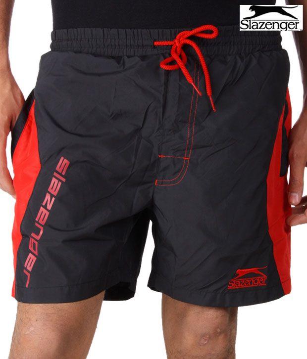 Slazenger Black Shorts (SSMS004)