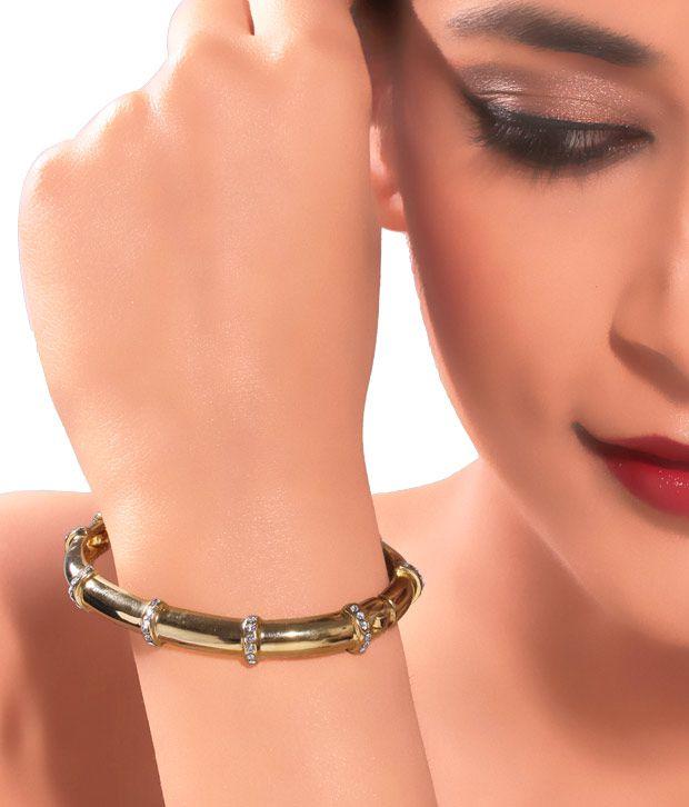 Kim's Glamorous  24k Gold Plated Bracelet