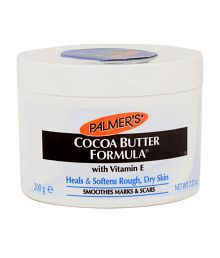 Palmer's Cocoa Butter Formula Cream, Heals and softens rough, dry skin, with Vitamin E - Jar 200gm