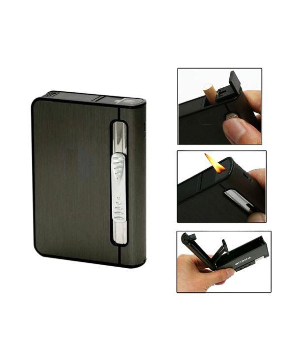 Focus 2 in 1 Cigarette Holder Case Cum Gas Lighter