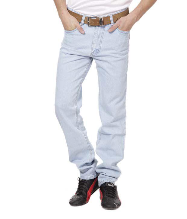 DFU Ice Blue Basic Jeans