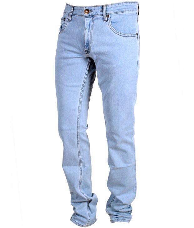 Trigger Light Blue Basic Stretchable Jeans