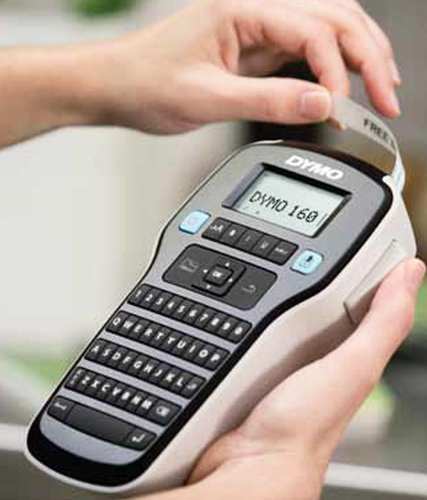 Dymo Easy-To-Use Label Maker with One-Touch Smart Keys (160P)