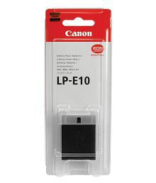Canon LP-E10 Lithium-Ion Battery Pack (5108B002AA) for Canon EOS Rebel T3 camera