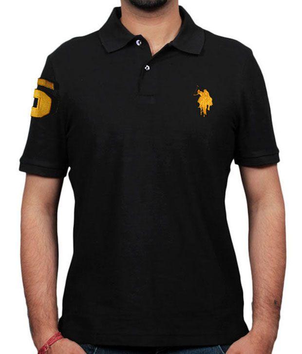 Jurapolo black collar polo t shirt buy jurapolo black Polo shirts without collar