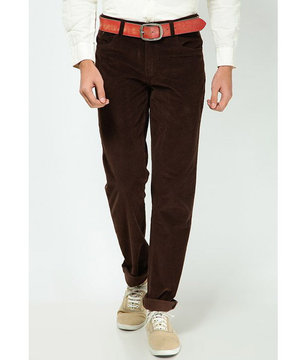 Turtle Smart Brown Trouser