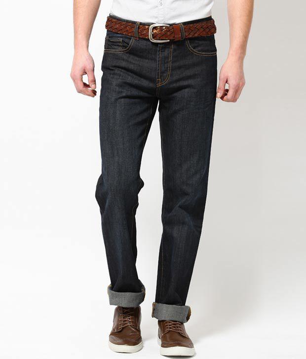 Turtle Navy Blue  Men's Jeans