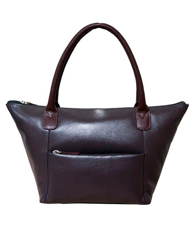 Jeane Sophie Grey Casual Handbag