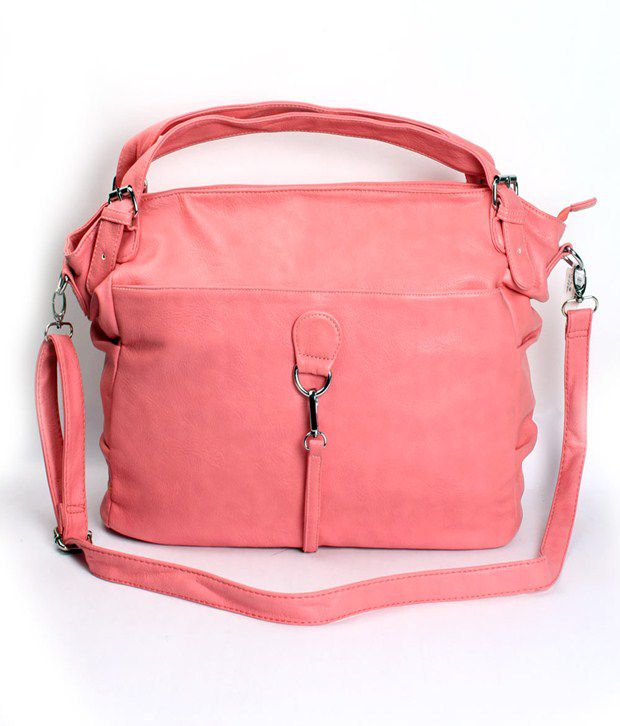 Khoobsurati Pink Casual Handbag
