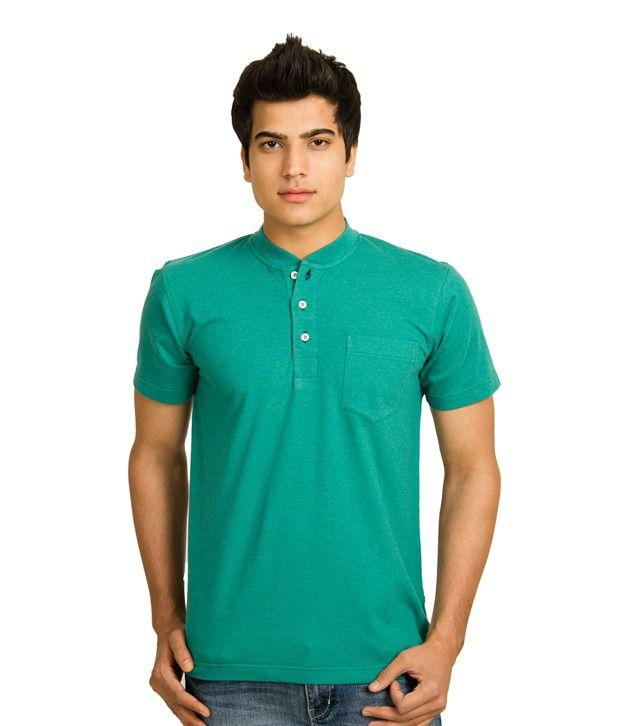 ALX New York Stylish Green T Shirt