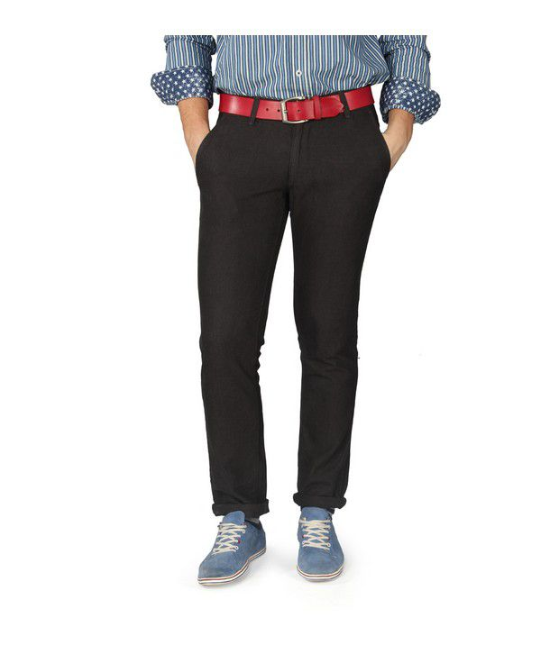 American Swan Black Seattle Smart Chinos