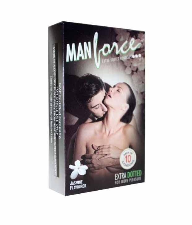 Manforce Extra Dotted Jasmine Condoms