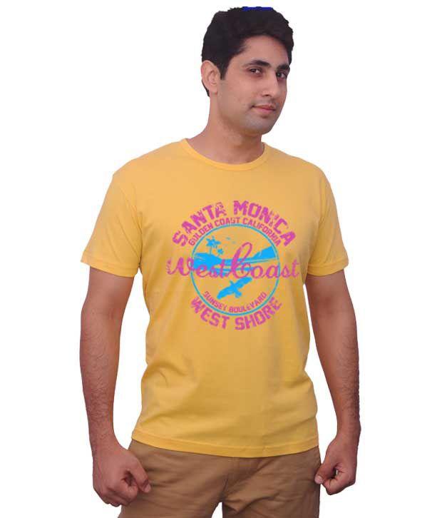 Inkovy Yellow West Coast T-Shirt