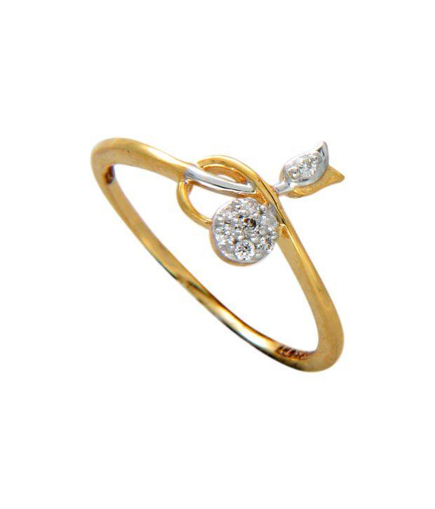 Timeless Jewels Style Diva 14kt Gold Diamond  Ring
