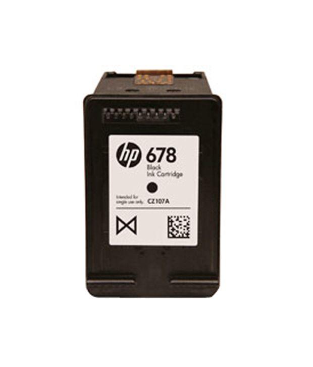 HP CZ107AA Ink Cartridges Black