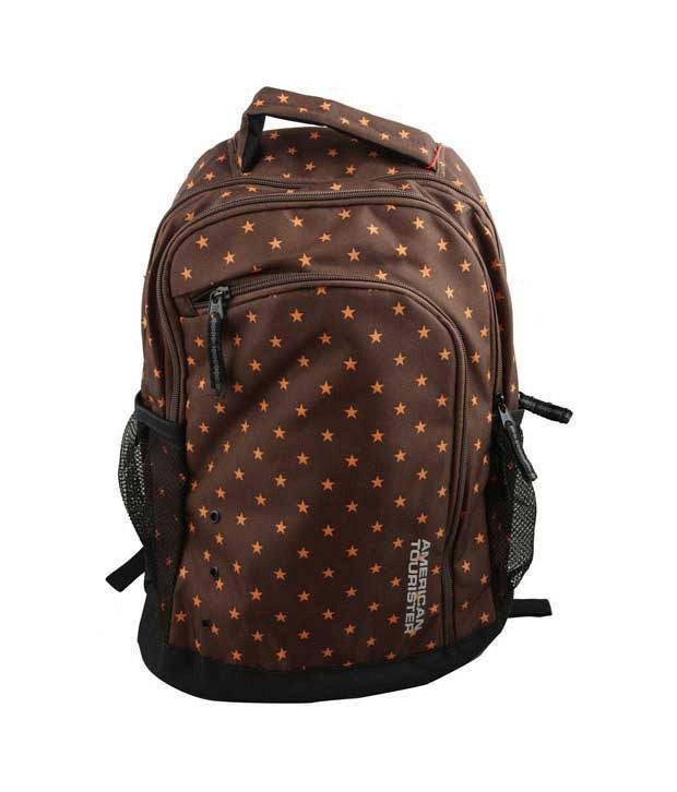American Tourister Code Backpack - Rust Star