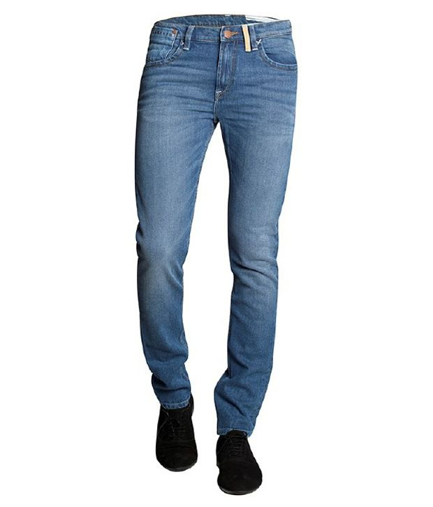 Lee Blue Basic Jeans