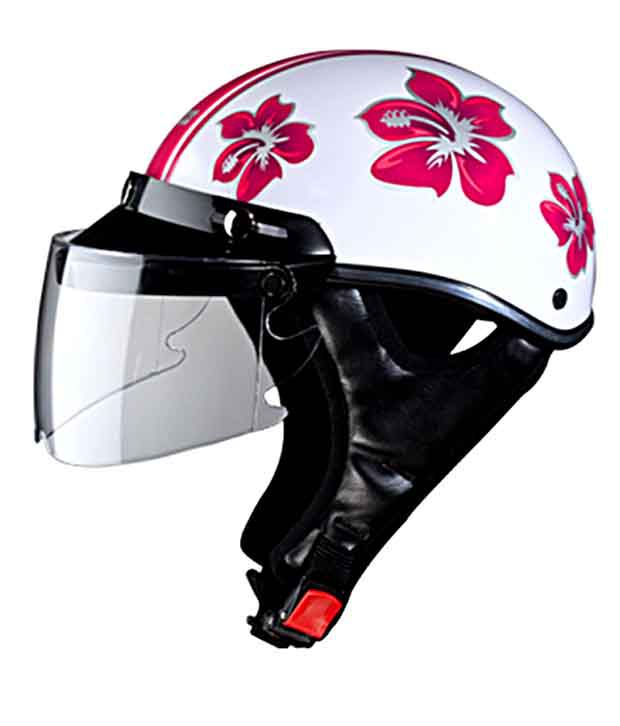 Studds - Ladies Full Face Helmets  - Troy - Pink