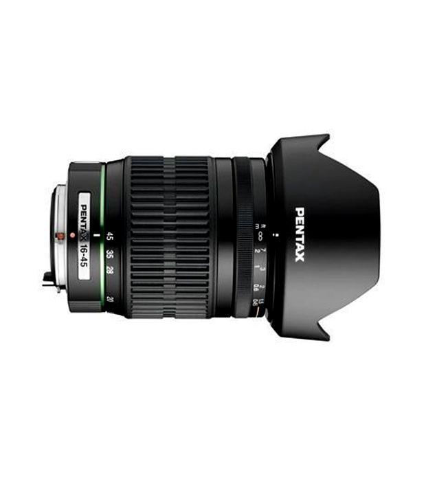 Pentax 16-45 mm f/4.0 SMC PDA  ED AL Zoom Lens for Pentax and  Samsung Digital SLR Cameras