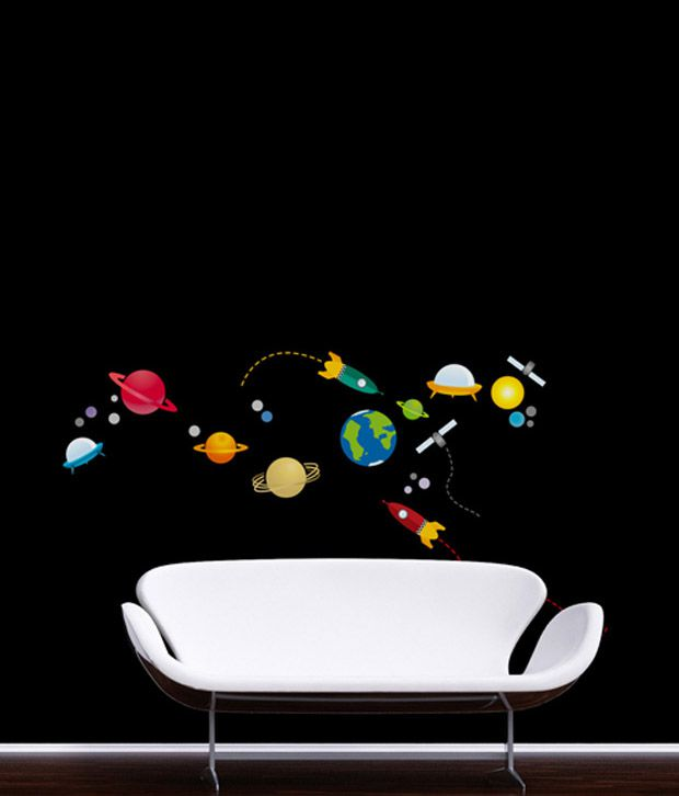 PINDIA Vinyl Space Wall Sticker
