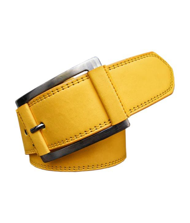 Winsome Deal Yellow Casual  Belt