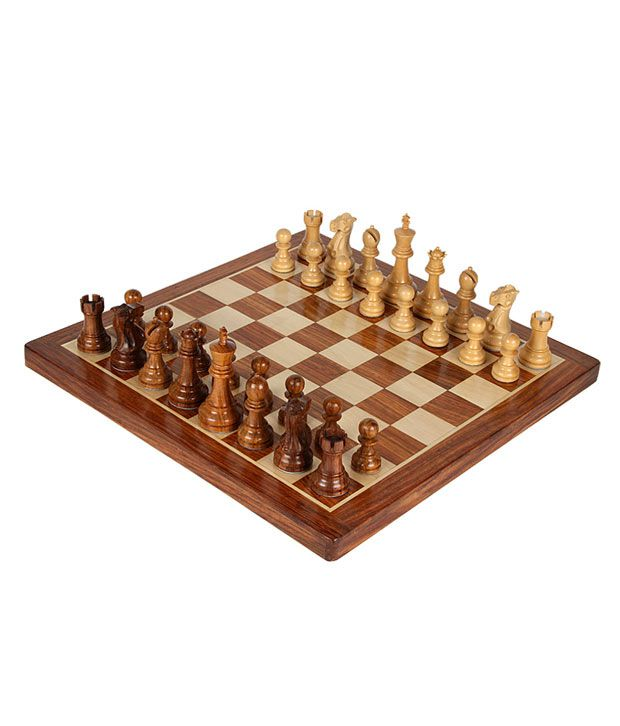 Chess n Craft Regular Chess Sheesham Wood