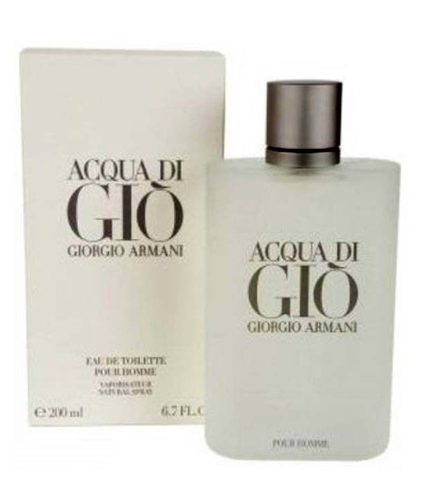 2a53c125b0d1 Acqua Di Gio 200 ml By Giorgio Armani For Men  Buy Online at Best Prices in  India - Snapdeal