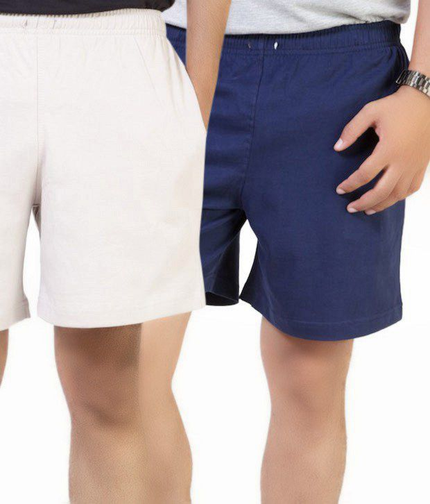 Cotson Casual Pack of 2 Shorts