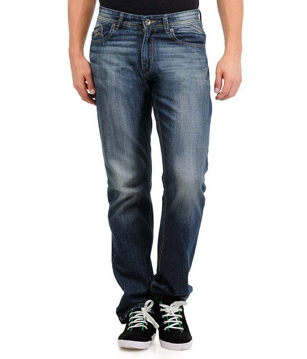 Yepme Kriss Medium Wash Blue Jeans