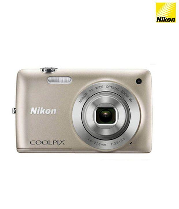 Nikon Coolpix S4300 16MP Digital Camera (Silver)