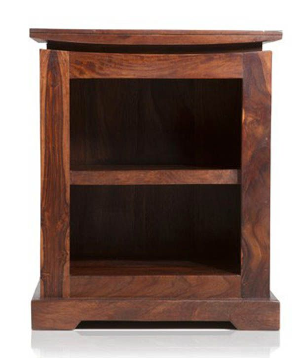 TouchWood Solid Wood Side Table