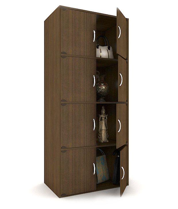 Housefull Nigel 8 Door Storage Cabinet - Buy Housefull Nigel 8 ...