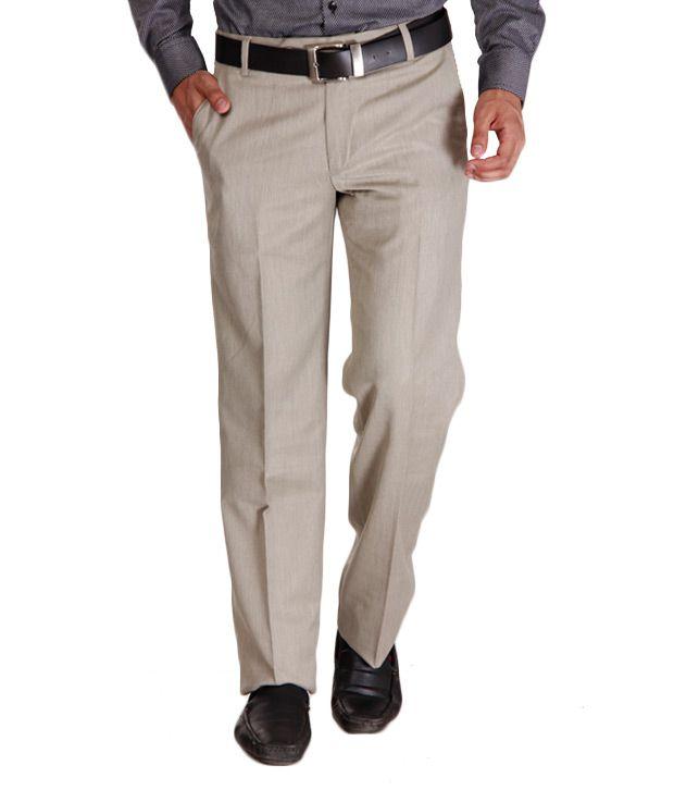 Alano Black Cotton Trousers