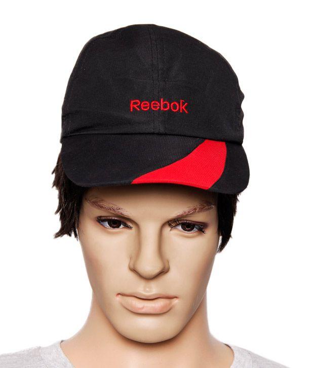 Reebok Black & Red Cap