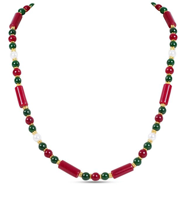 Itz About You Jaipur Stone Necklace