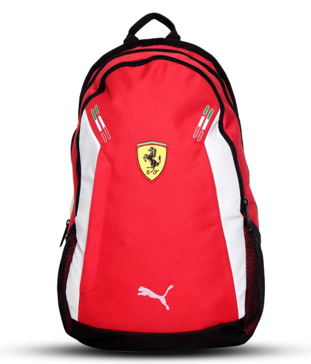 Puma Red Ferrari Replica Backpack - Buy Puma Red Ferrari Replica Backpack  Online at Best Prices in India on Snapdeal 28287e4ceb80f