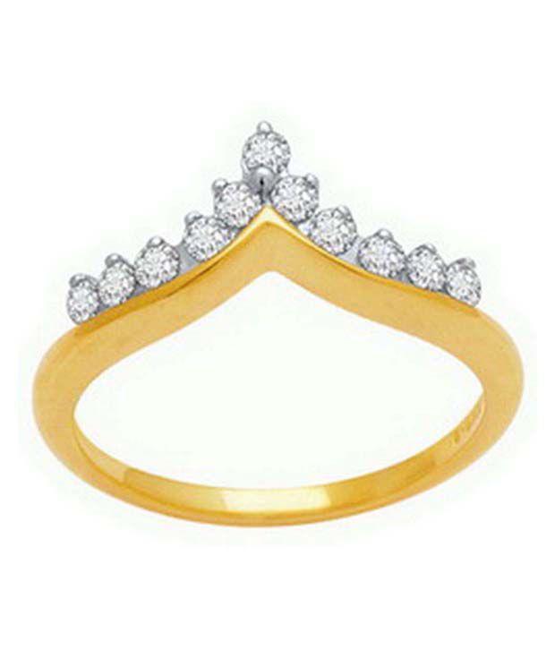 Avsar 18kt Gold 0.15 Ct. Diamond Ring