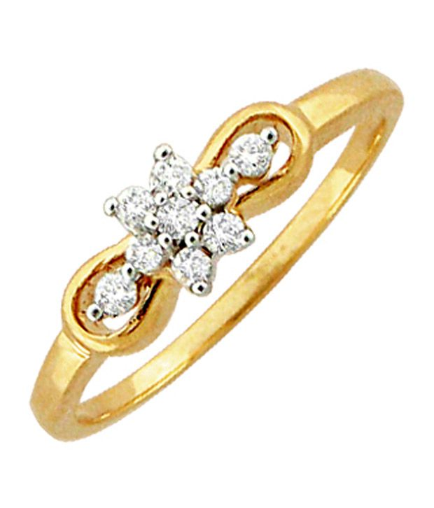 Avsar 0.15 Ct. Diamond 18kt Gold Ring