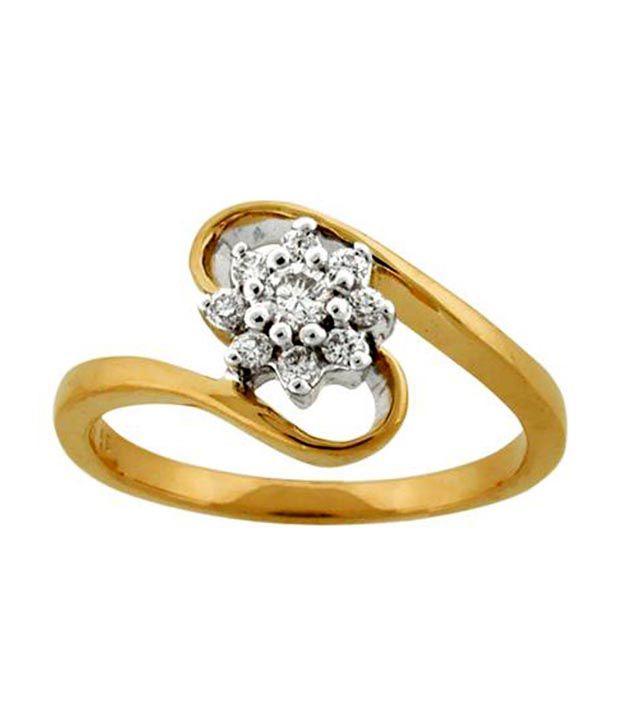 Avsar 18kt Gold 0.20 Ct. Diamond Ring