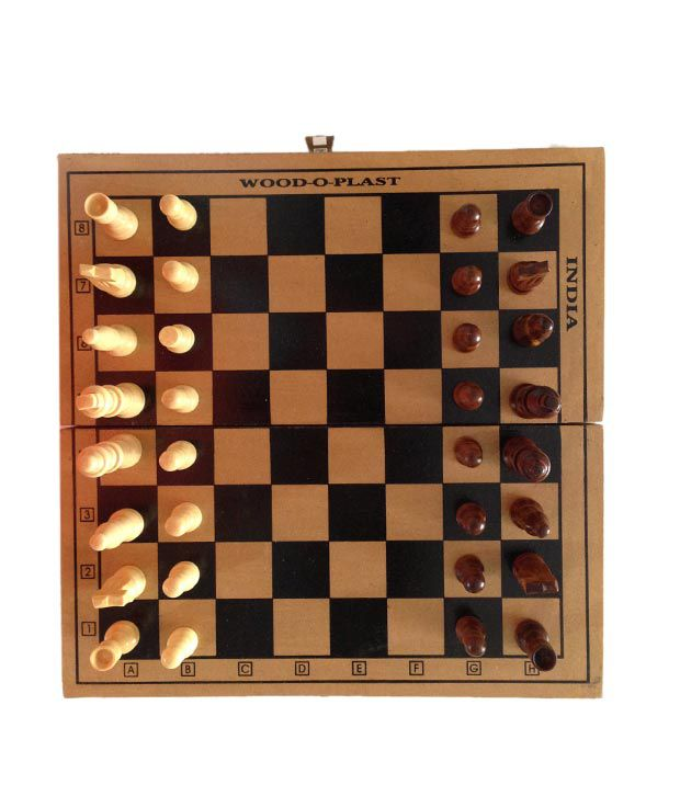 Wood O Plast Chess Board 15 Inches