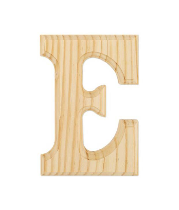 Wood Letters 6