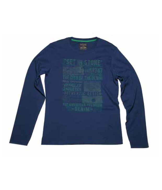 Wrangler Dark Indigo Men's T-Shirt