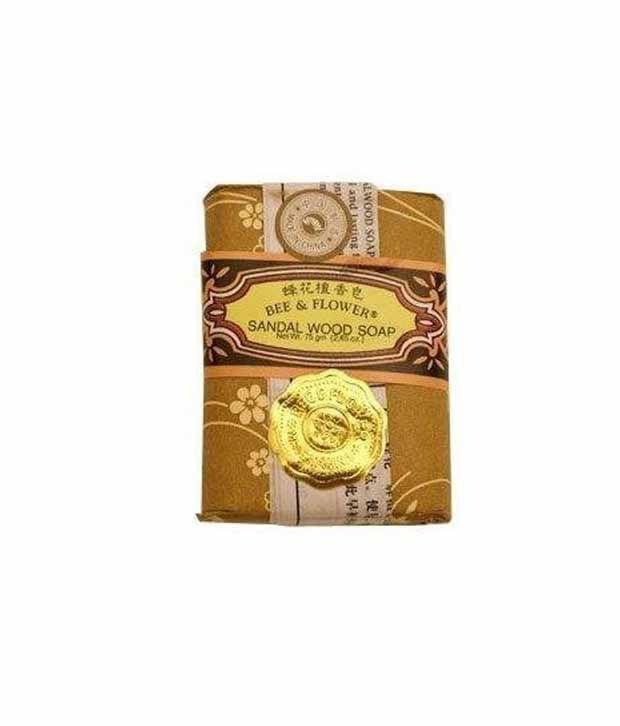 Bee & Flower - Chinese Sandalwood Soap 2 65Oz - 12/Case-Bqe