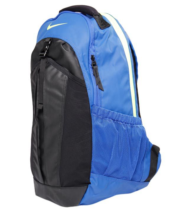 Nike Aqua Blue   Black Backpack Nike Aqua Blue   Black Backpack ... cf40933ce5